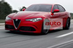 Alfa Romeo Giulia 2015. First images!!