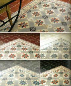 1000 images about cuisine on pinterest kitchens floors - Peinture au sol sur carrelage ...