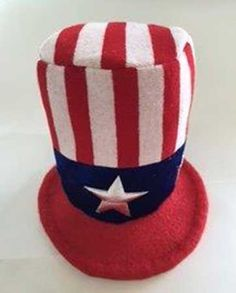 USA hat for the patriotic dog. With Adjustable chin straps to keep it on  head. 1f9d9cacfe3a