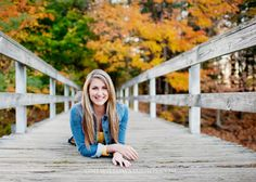 This would be great to take a pic in each season in the same place for a senior pic.