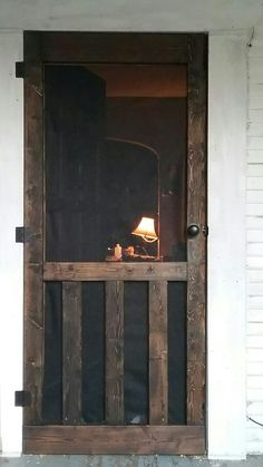 Screen door ideas dogs window 59 new ideasScreen door ideas dogs window 59 New ideas dogs door diy screen door decor ideasThe fashion for screen doors has become very popular in the market, and Wood Screen Door, Wooden Screen, Front Screen Doors, The Doors, Barn Wood, Home Projects, Home Remodeling, Farmhouse Decor, Country Decor