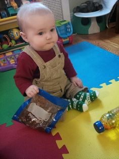 Baby and Me: Homemade Sensory Toys, Part I: Sensory Bags