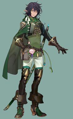 images for anime fantasy Fantasy Character Design, Character Concept, Character Inspiration, Character Art, Concept Art, Anime Elf, Anime Guys, Manga Anime, Elf Warrior
