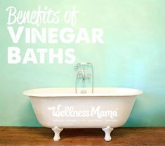 Bathing in vinegar doesn't sound that luxurious or appealing, but it may help boost your health.  Here's a list of benefits of vinegar baths.