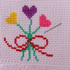 Hand Embroidery Patterns, Bridal Dresses, Symbols, Cross Stitch Art, Cross Stitch Embroidery, Diy And Crafts, Ideas, Cross Stitch Designs, Baby Sheets