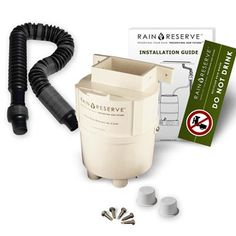 Reviewed By:  David        RainReserve Rain Diverter   This kit contained everything but the barrel. Easy to install. Excellent for anyone who has basins/barrels and just wants the down spout diverter. I installed and that night when it rained I filled up a 55 gallon rain barrel.