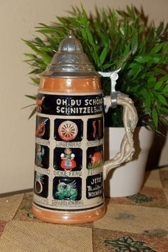 German Beer Stein by vinpenelo on Etsy, $60.00