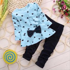 1db214b4a2bf1  10.99 Toddler Girls 2pc Outfit We ship with a USPS tracking number.  Shipping takes between