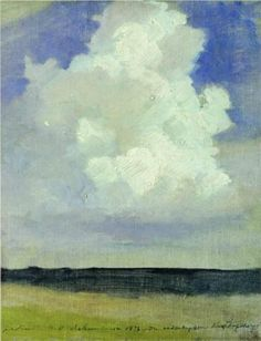 Cloud (1878) by Isaac Levitan via Wikipaintings