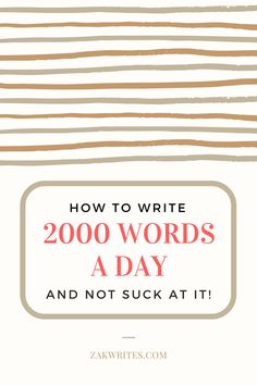 This is my elaborate step by step plan for writing 2000 words a day of phenomenal content without fail. Writing Ideas, Writing Prompts, Word Of The Day, Entrepreneurship, Storytelling, Blogging, Success, Content, Ink