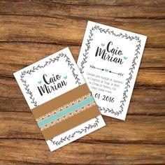 Pra quem gosta do estilo rústico, ta aí uma linda sugestão!! Simples e fofo Orçamentos: enlacedesigndp@gmail.com  #wedding #invitation #rústico #casamento #turquesa #inspiração #inspiratio
