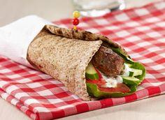 50 recettes saines pour les boîtes à lunch - Keftas en sandwich