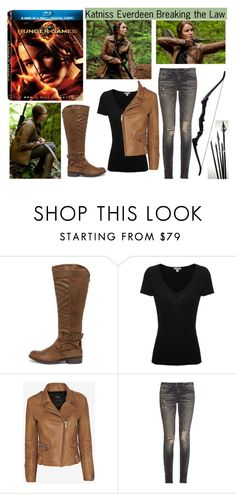 """""""Hunger Games Style"""" by book-girl-4 ❤ liked on Polyvore featuring Madden Girl, James Perse, Barbara Bui, R13, Hungergames and contestentry"""