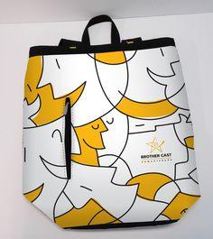 Design pattern for promotional bag. Client: Brother Cast