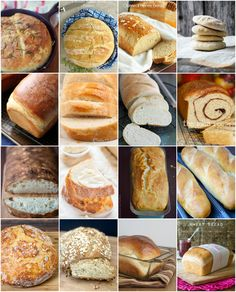 Looking for an easy and delicious homemade bread recipes? Sharing some of our favorite recipes that are easy to make with great results!