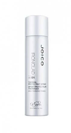 When it comes to heat styling tools, always make sure it's protected. // Ironclad Thermal Protection Spray by Joico