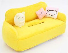 Sumikkogurashi animal sofa plush tissue box 2