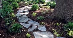 stone-slab path