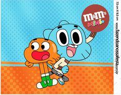 Mini M&M o Incrível Mundo de Gumball