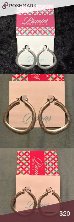 Round About Earrings! NWT! Premier Designs Round About Earrings! Premier Designs Jewelry Earrings