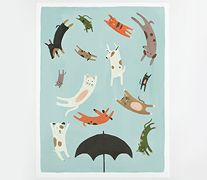 Quill & Fox cats & dogs poster - for nephew