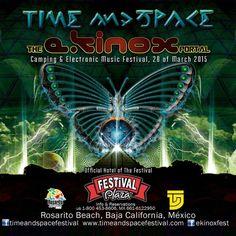 Eventos - Time and Space: The Ekinox Portal, Ensenada 2015
