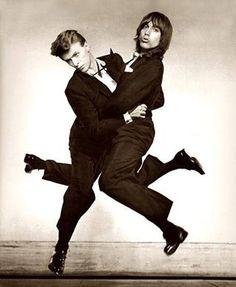 David Bowie & Iggy Pop. Dancing in the Street.