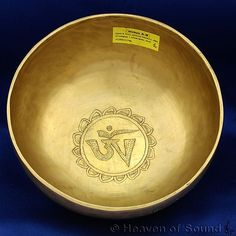 Special Engraved Planetary Sirius A/B Tibetan Singing Bowl for Sound Healing Therapy, Meditation, Yoga - Heaven of Sound