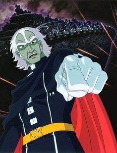 Star Blazers: Comet Empire Japanese Anime Series, Japanese Cartoon, Pictures Of Princesses, Captain Harlock, 70s Tv Shows, Star Blazers, Childhood Tv Shows, 80 Cartoons, Battleship