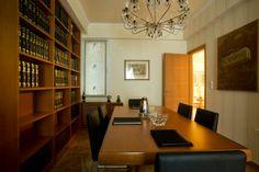 Estante+mesa de reunião - www.limedeco.gr lawyer office