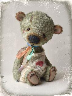 PDF Teddy bear pattern 8 inches 20 cm Max by MoscowBearKA on Etsy Vintage Teddy Bears, Cute Teddy Bears, Teddy Bear Patterns Free, Handmade Stuffed Animals, Charlie Bears, Dog Shedding, Toy Craft, Stuffed Animal Patterns, Felt Animals