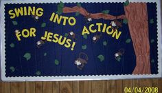 Swing Into Action for Jesus!!