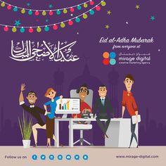 Happy Eid holidays from the team at Mirage Digital Eid Holiday, Creative Design, Web Design, British Schools, Happy Eid, Eid Mubarak, Web Development, Infographic, Happiness