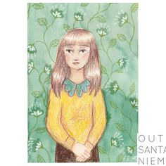 Nobody wants to dance with a goody-two-shoes | Outi Santaniemi | illustration, colorpencils