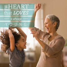"""""""The heart that loves is always young"""" #quote #inspiring"""