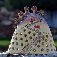 Ceramic Pottery, Ceramic Art, Slab Boxes, Pottery Houses, Hand Built Pottery, Salt Dough, Expo, Miniature Houses, Clay Crafts