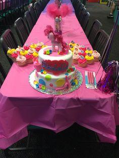 My little pony birthday cake for my Eli's 4th bday