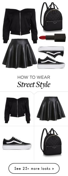 """Street Style"" by universalxinsanity on Polyvore featuring NARS Cosmetics and Vans"