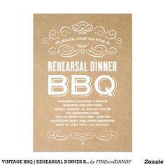 VINTAGE BBQ | REHEARSAL DINNER BBQ
