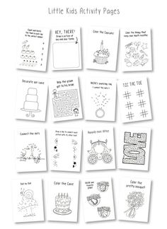 Personalized Kids Special Occasion Coloring Book Rehearsal Dinner Activity Pack With Crayons