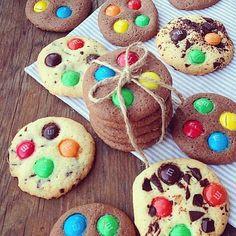 печенье с m&m