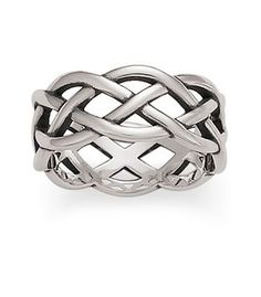 Very similar to the one I got in Connemara. Woven ring in silver • James Avery Jewelry