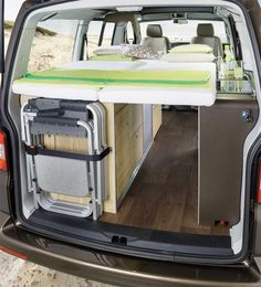 vw t5 campevan beds - Google Search