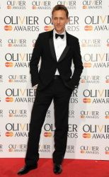 Tom Hiddleston at the Laurence Olivier Awards 2013