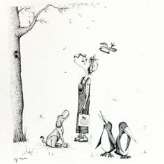 Zeichnung, Oktavias FabelHaft-e Begegnung AKR 10 von tisch8 auf DaWanda.com