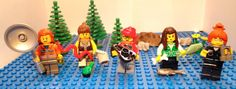 """More female Lego scientists, please! """"It shouldn't have been necessary to pull the head off of a hapless victim of zombie mummy to make a female ichthyologist, and use the hair from a stereotypical librarian."""""""
