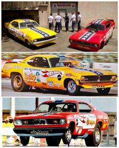 Funny Car Drag Racing, Funny Cars, Dragster Car, Snake And Mongoose, Nhra Drag Racing, Drag Cars, Cool Cars, Weird Cars, Vintage Racing