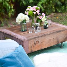 10 DIY Projects Ideas Using Wooden Crates | Only For Her - Part 3