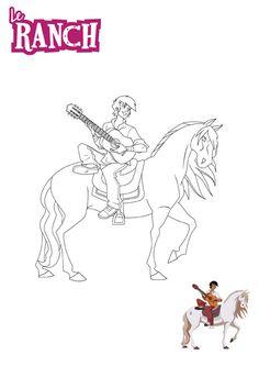 """Résultat de recherche d'images pour """"léna et angelo """" Le Ranch, Film, Hobbit, Images, Childhood, Horse, Spirit, Book, Drawings"""