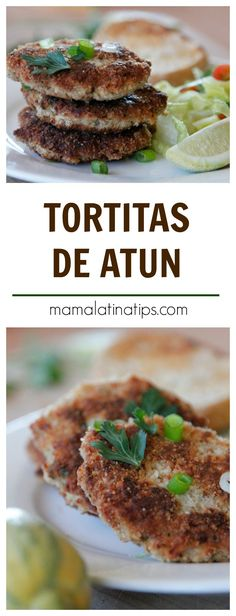 Easy, fast, tuna patties with potatoes perfect for lent or any time of the year. The way we made them in Mexico. Gourmet Recipes, Healthy Dinner Recipes, Mexican Food Recipes, Cooking Recipes, Recipes For Lent, Tuna Patties, Healthy Cheesecake, Healthy Potatoes, Beach Meals